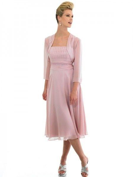 Kleider Hochzeitsgast Knielang  Stylische Kleider Für