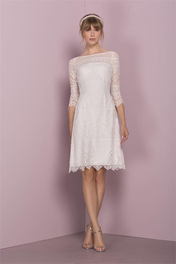 Kleider Hochzeitsgast Vokuhila Plus Size Brautkl In 2020
