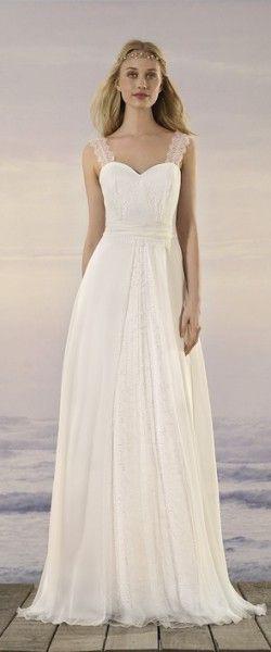 Kleider  Hochzeitskleid Elegant Kleid Hochzeit Brautkleid