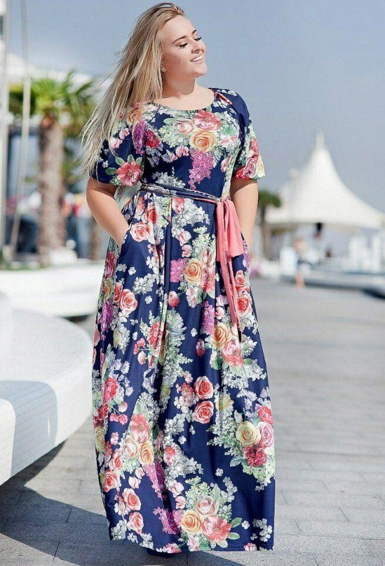 Kleider In Großen Größen Elegante Mode Für Kurvige Damen