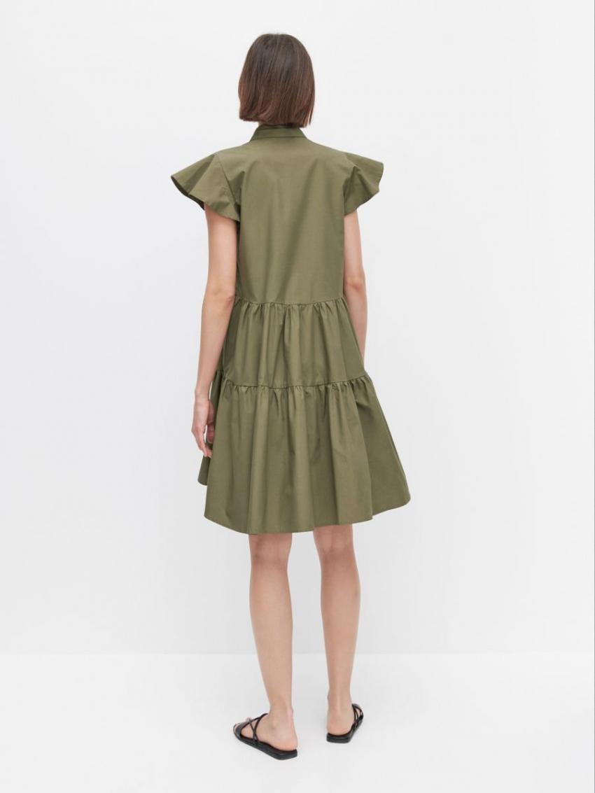 Kleider  Jumpsuits  Damen Kleid Gru00Fcn  Reserved