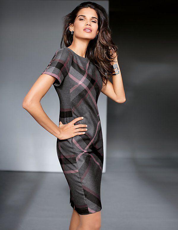Kleider  Madeleine Mode Österreich  Knielanges Kleid