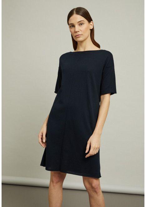 Kleider  Stefanel  Kleider Overall Kleid Fließendes Kleid