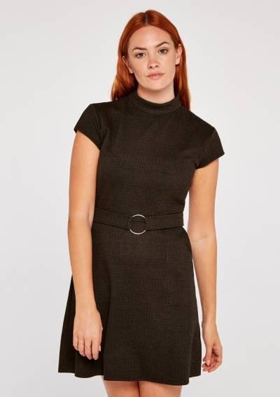 Kleider Von Apricot In Schwarz Für Damen