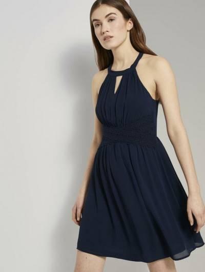 Kleider Von Tom Tailor Denim In Blau Für Damen