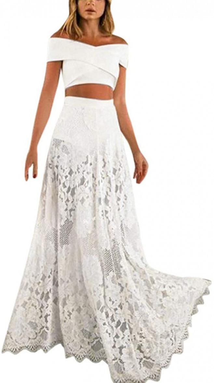 Kleider Zweiteiliges Abendkleid  Abendkleider