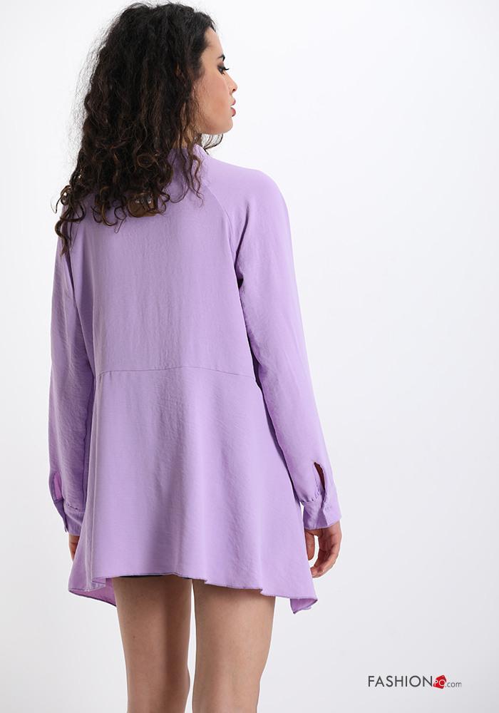 Kleidung  Bluse Mit Schleife Vausschnitt  P22210003161  De