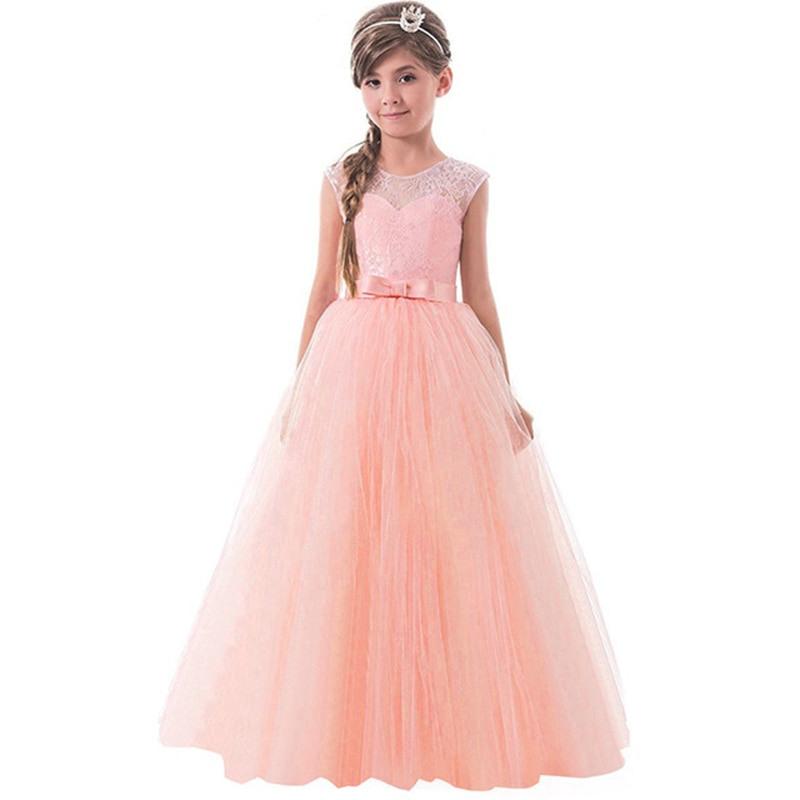 Kleine Prinzessin Spitze Kleid Für Mädchen Kleidung