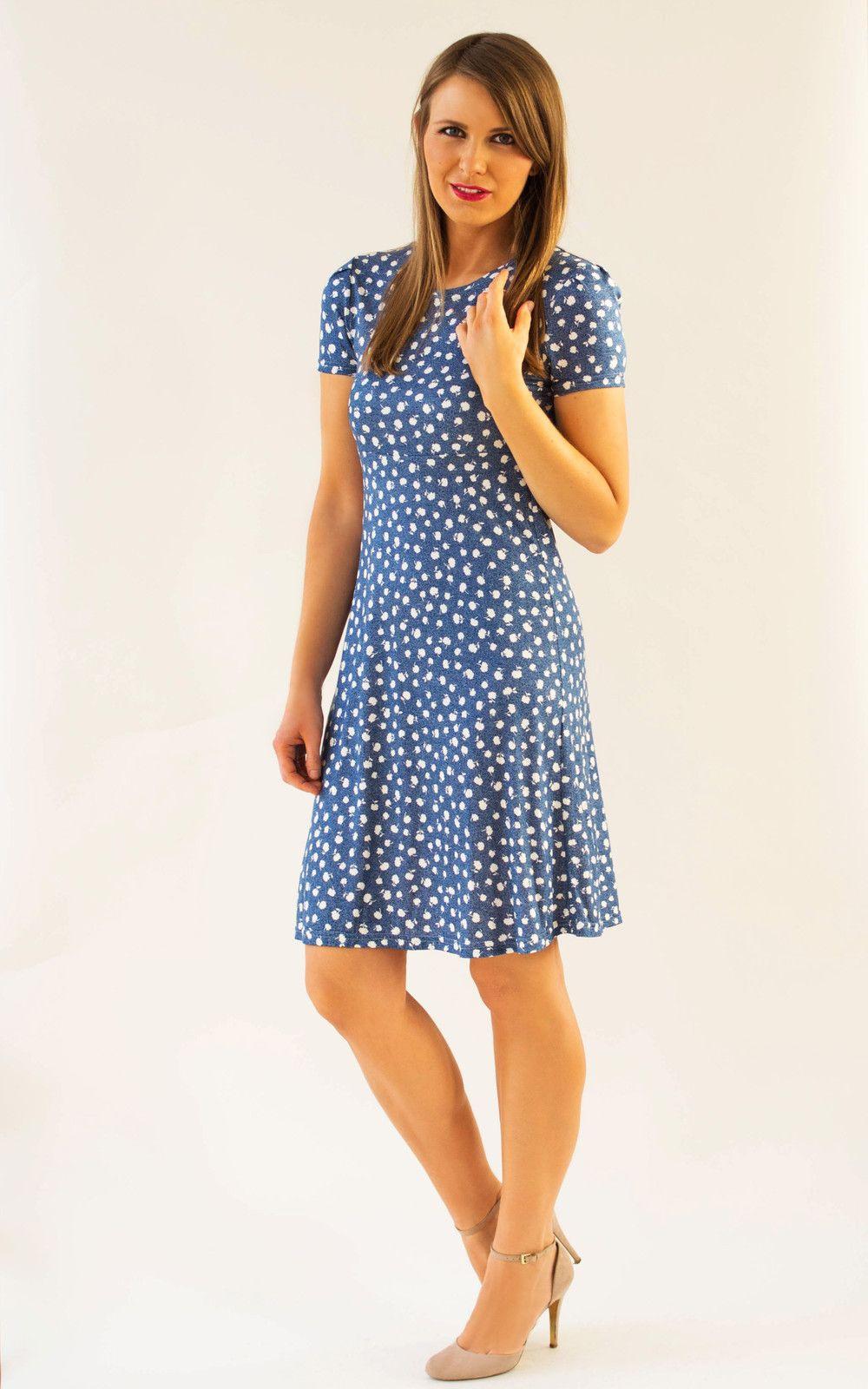 Knielange Kleider  Kleid Ava Millefleur  Ein