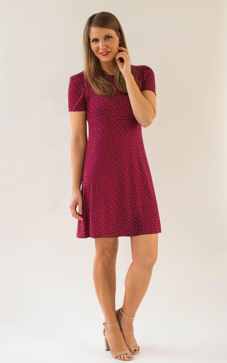 Knielange Kleider  Kleid Ava Paisley 3452  Ein