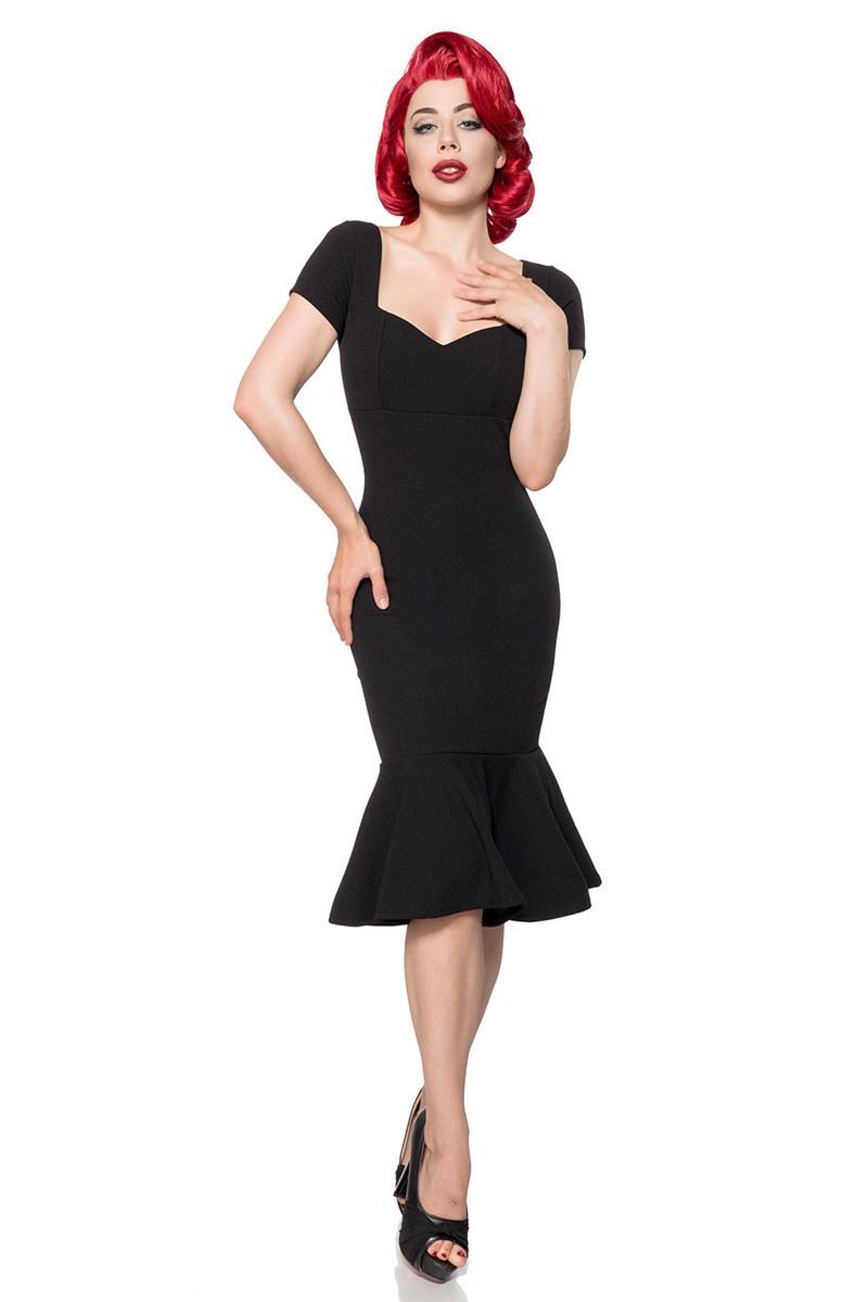 Knielanges Elegantes Retro Kleid  Clubwear/Party