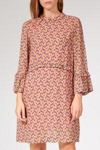 Knielanges Kleid Aus Viskose  Bloom  Myclassico