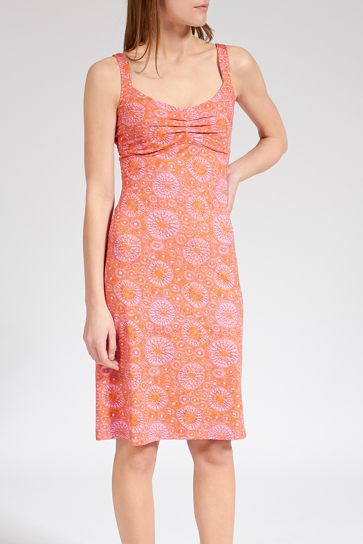 Knielanges Kleid Lavida Mit Ethnoprint  Wetines