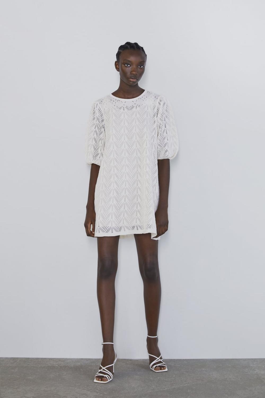 Knitted Mini Dress  New Inwoman  Zara United Kingdom
