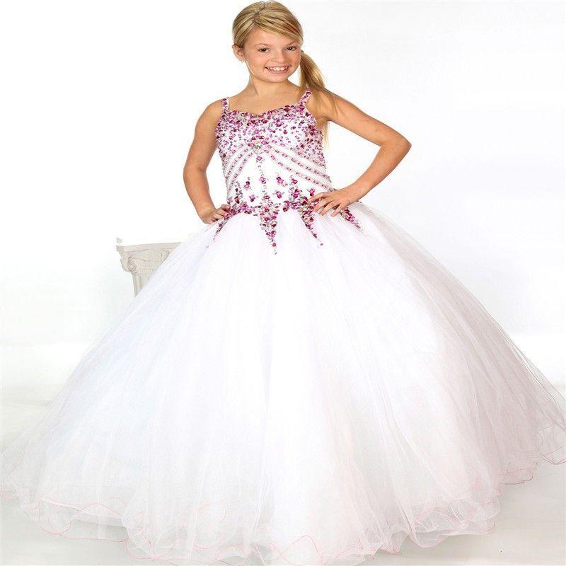 Kommunion 2019 Mädchen Kleid Maud In Weiß Mit Bildern