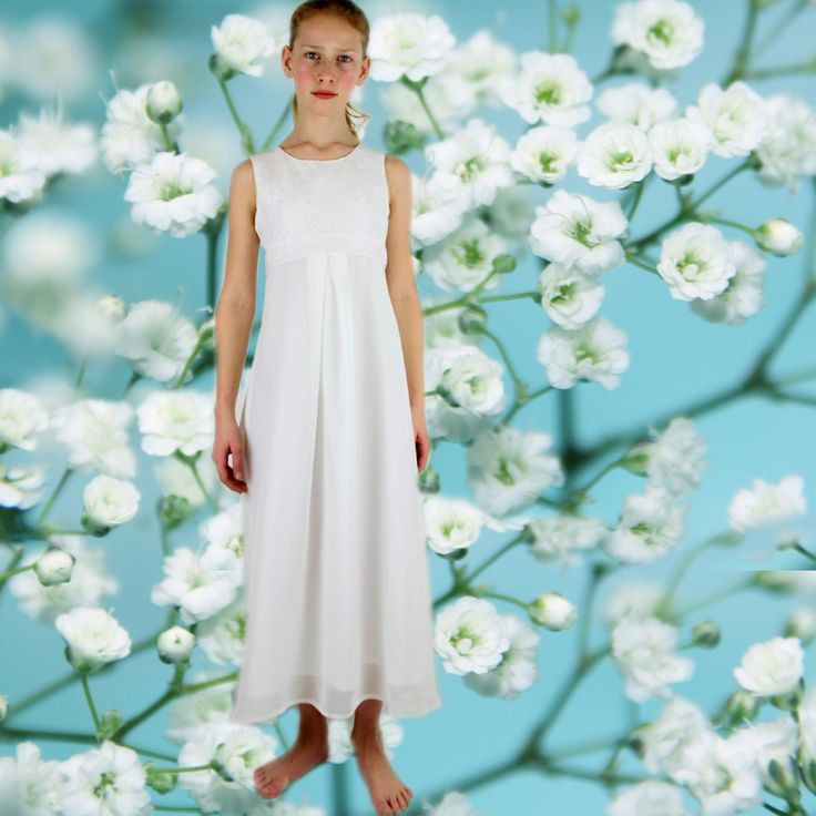 Kommunion Kleid Schlicht München Mode  Kommunion Kleider