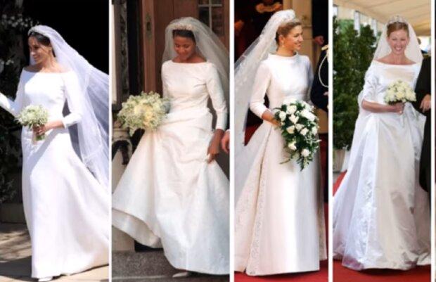 Königliche Bräute Die Bei Einer Hochzeit Eine Tiara