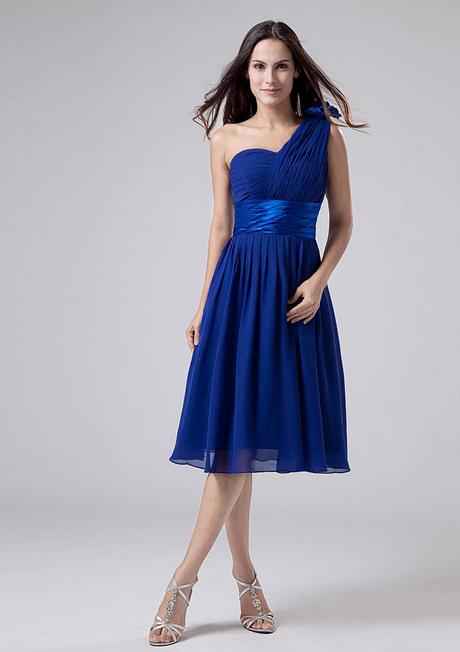 Königsblau Kleid