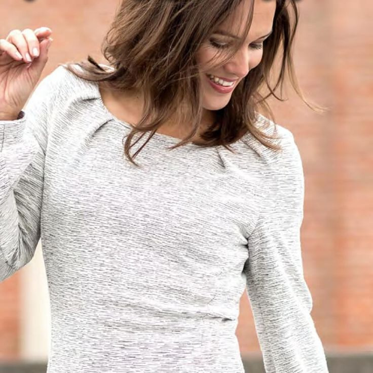 Kostenloses Schnittmuster Für Ein Jerseykleid Für Damen Gr