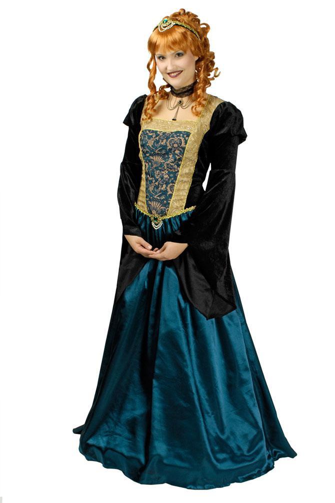 Kostüm Burgfräulein Dame Mittelalterkostüm Mittelalter