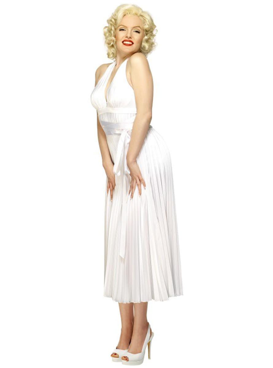 Kostüm Marilyn Monroe Deluxe  Funidelia