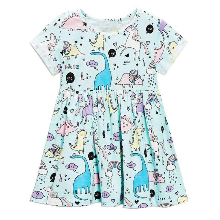 Kurzarmkleid Für Mädchen  Kleinkindbekleidung Mädchen