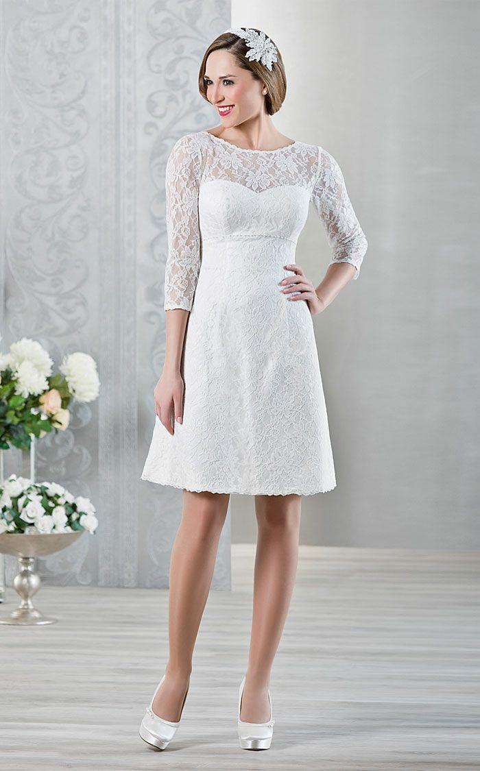 Kurze Brautkleider 20 Umwerfende Traumkleider Für Die