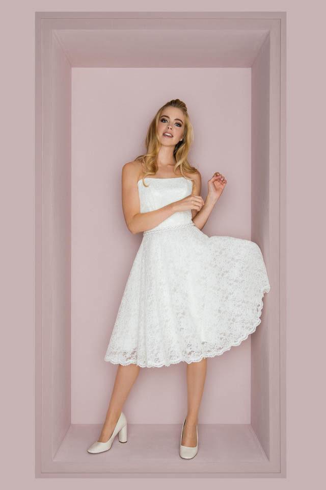 Kurze Brautkleider Fürs Standesamt Bei Kuessdiebrautde