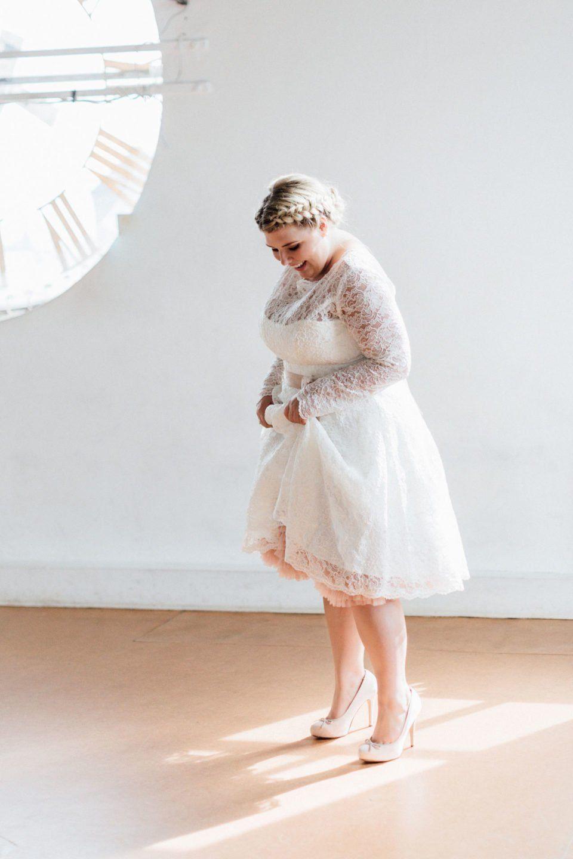 Kurze Brautkleider Große Größen  It'S Petticoat Time