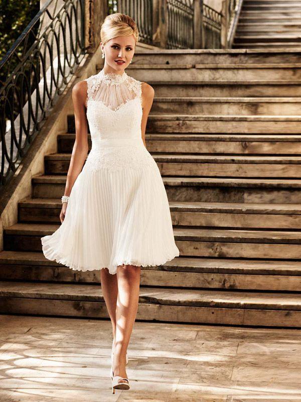 Kurze Brautkleider  Kleider Hochzeit Hochzeit Kleid