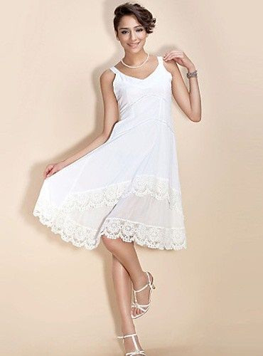 Kurze Weiße Kleider Standesamt  Weiße Kleider Kurz Kurze