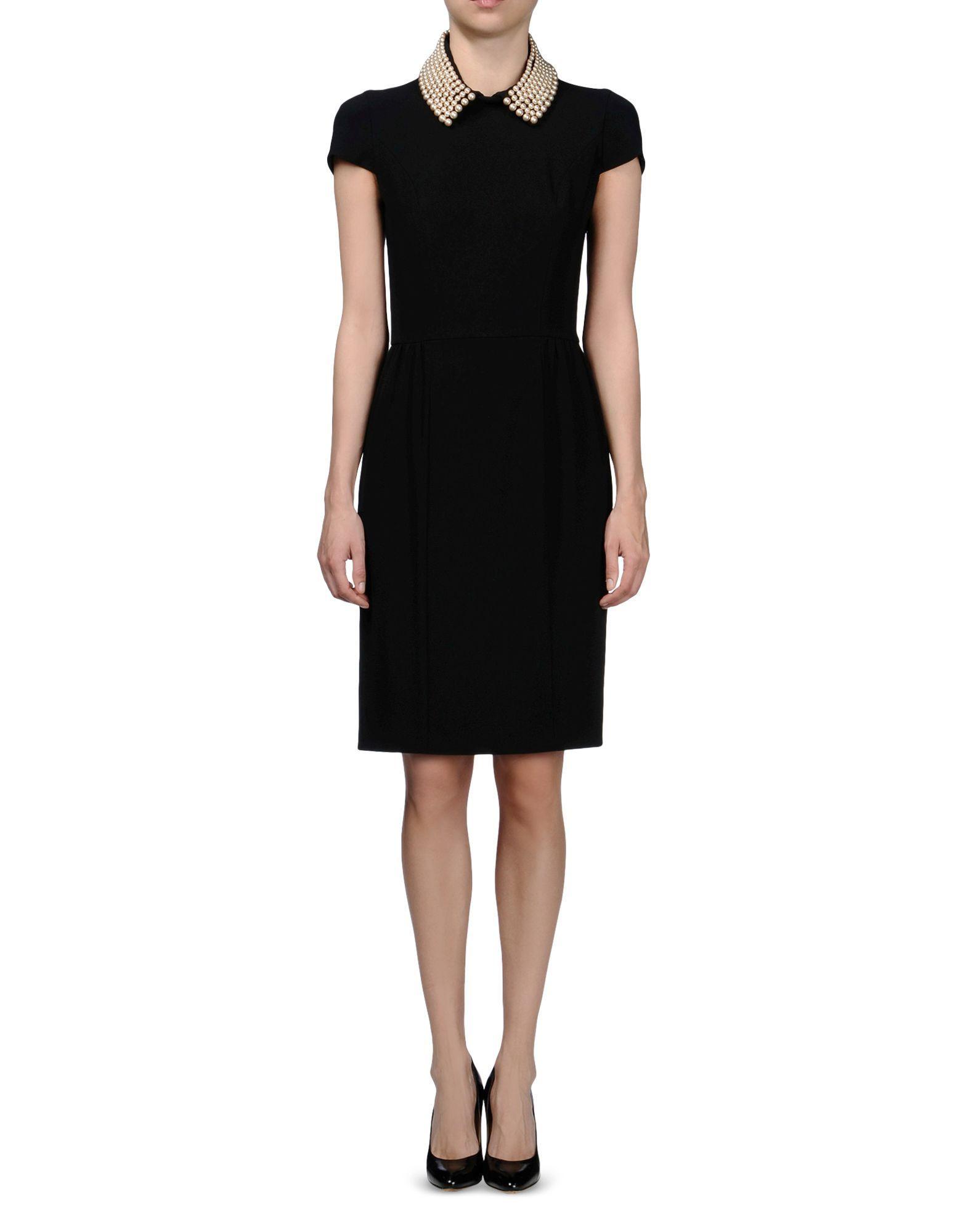 Kurzes Kleid Für Sie  Moschino Online Store Mit Bildern