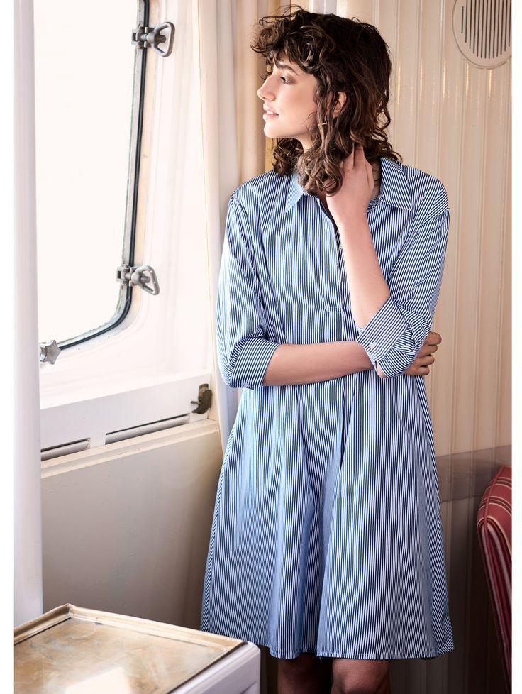 Kurzes Kleid Im Maritimem Stil #Impressionen #Maritimstyle