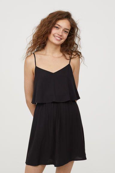 Kurzes Kleid Modell  Kurze Kleider Mode Kleider Hm