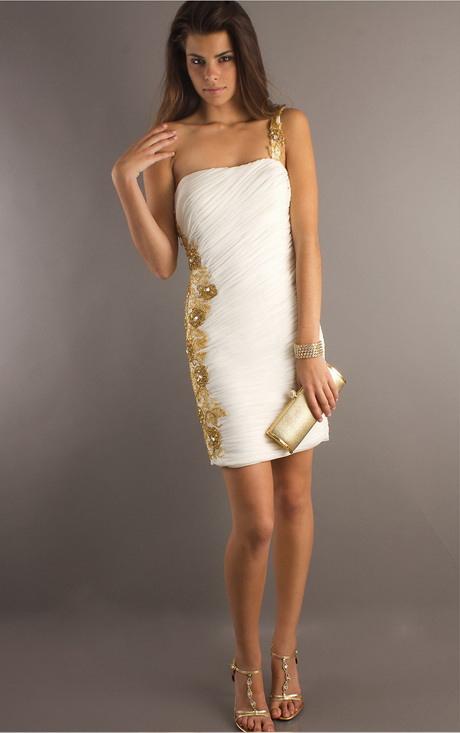 Kurzes Weisses Kleid