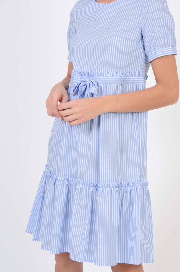 La Camicia Hemdblusenkleid In Blau/Weiß Gestreift  Gruenerat