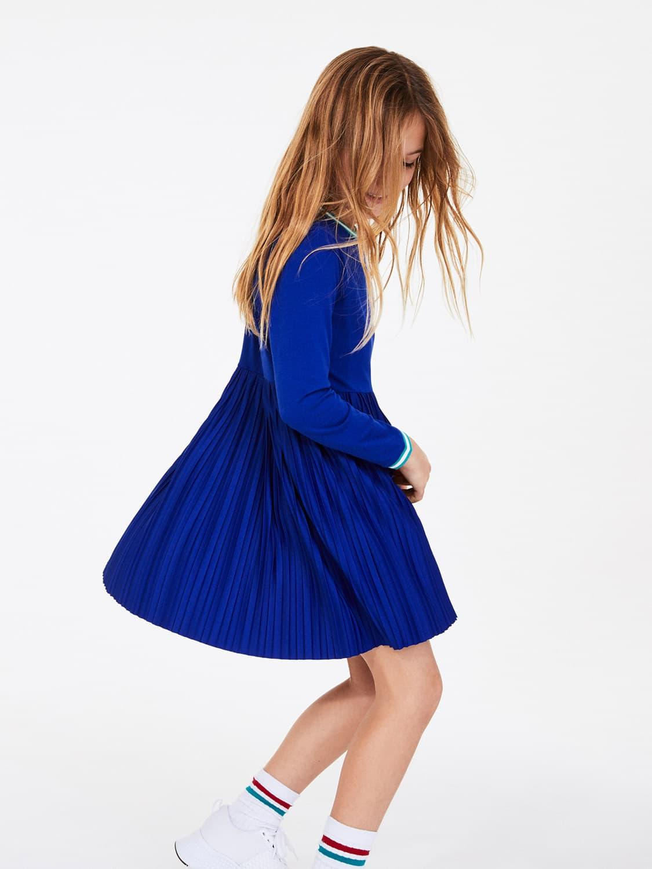 Lacoste Kleid Blau Für Mädchen Nickis