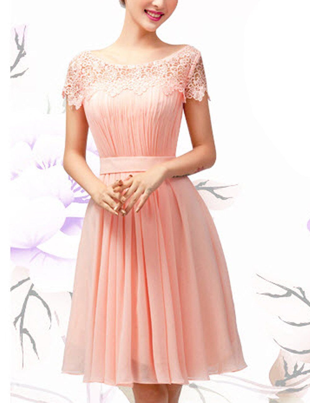 Lactraum Brautjungfernkleid Ballkleid Abendkleid
