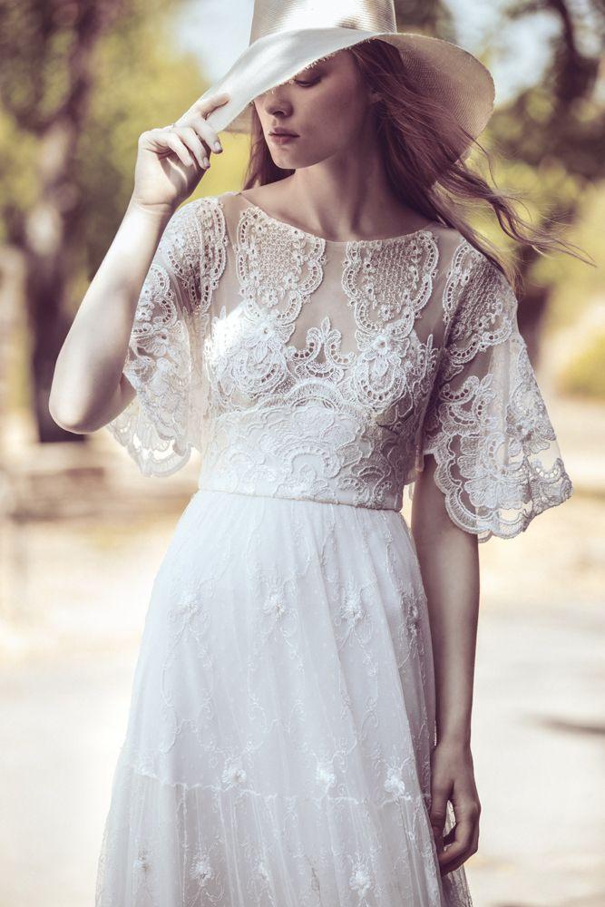Ladonnavintagebrautkleid  Kleid Hochzeit Brautkleid