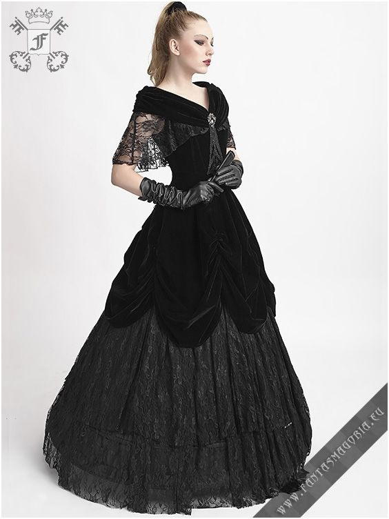 Lady De La Morte Dress Q273 Punk Rave  Gothic Dress