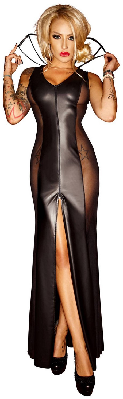Langes Enges Kleid