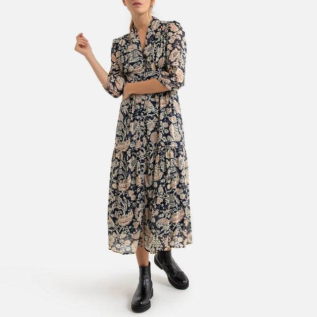 Langes Kleid Alin Bedruckt Bunt Bash  La Redoute