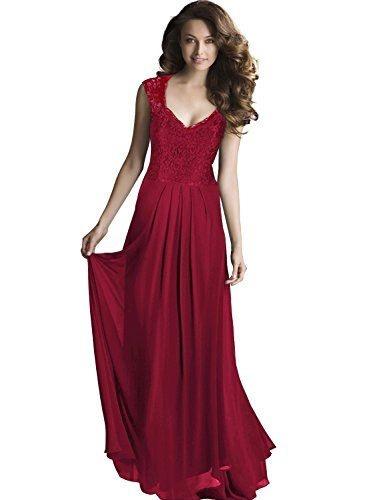 Langes Kleid Rot