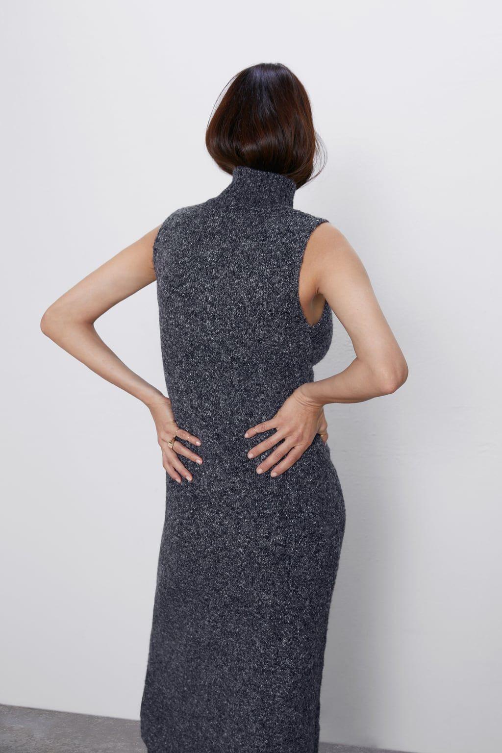 Langes Strickkleid Mit Bildern  Strickkleid Modestil