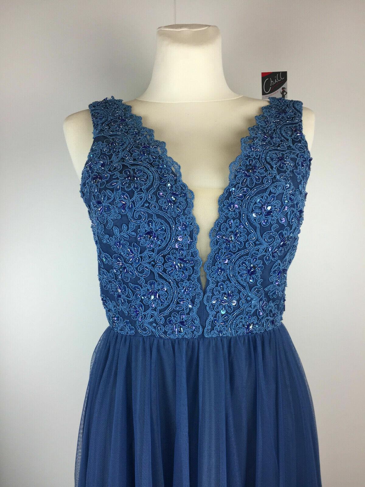 Laona Abendkleid Style La122008L Bijou Blue  Chill Mode