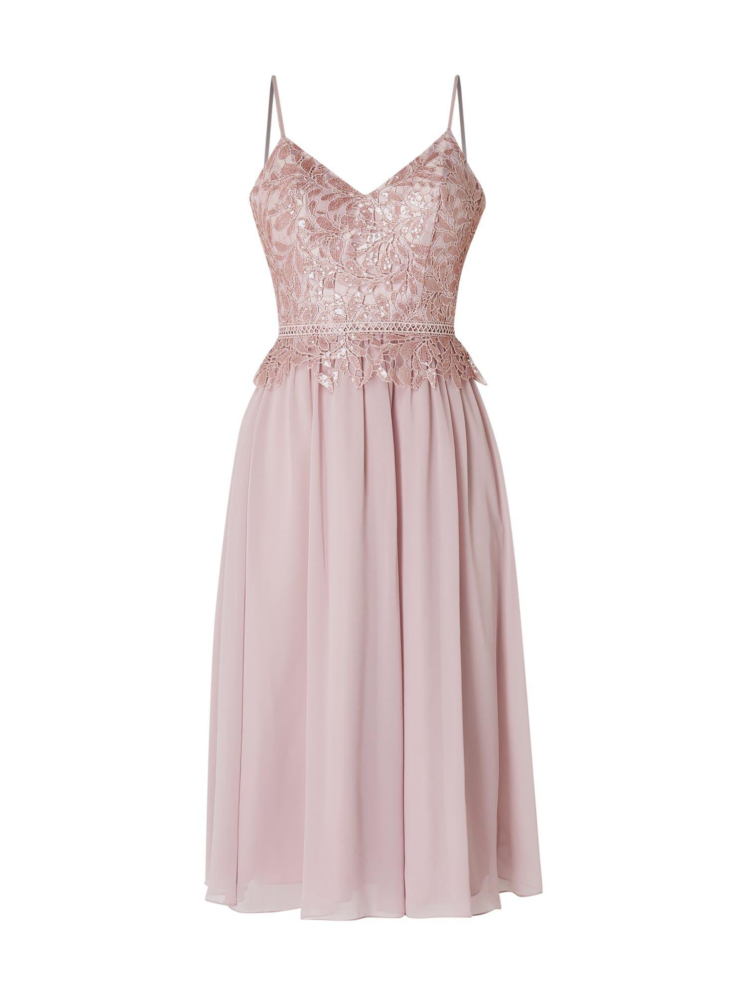 Laona  Cocktailkleid Mit Floraler Spitze  Rosé  Kleid