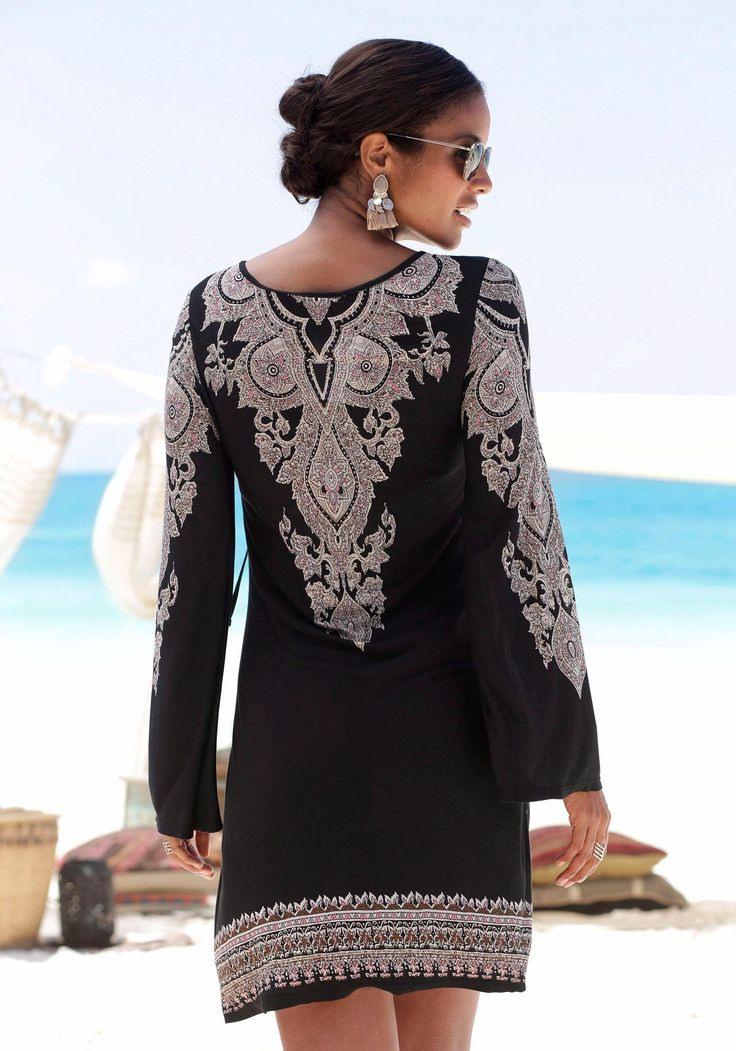 Lascana Jerseykleid Online Bestellen  Baur In 2020