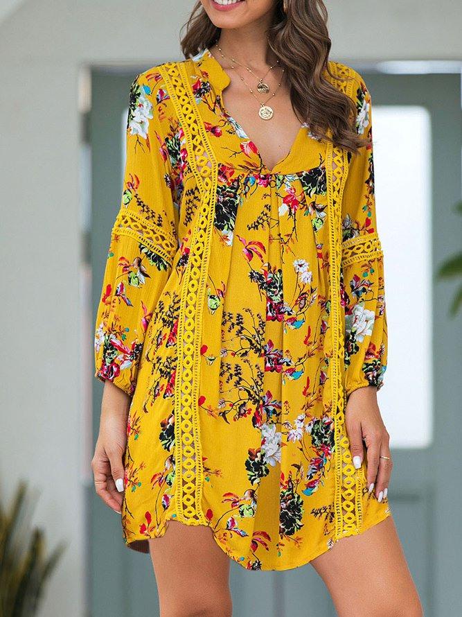 Lässige Geblümte Kleider  Modetalente