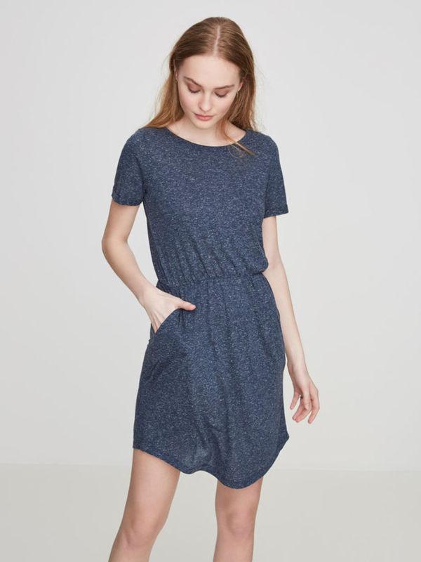 Lässiges Kleid Mit Kurzen Ärmeln Von Vero Moda Ansehen