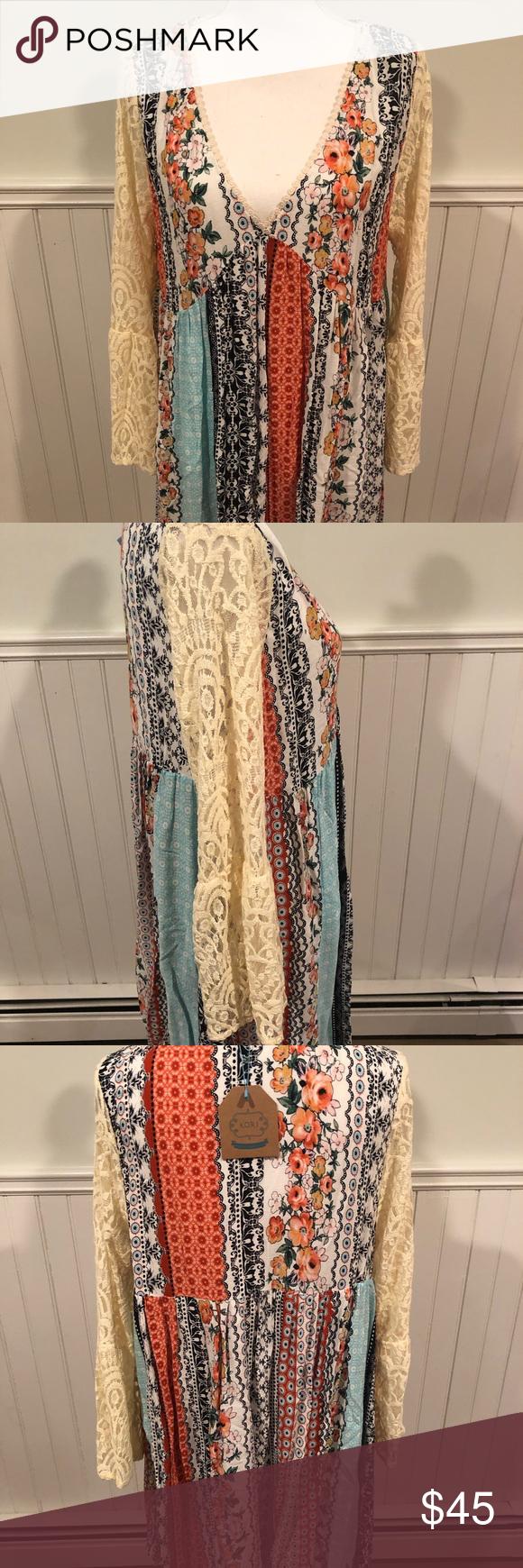 Last One V Neck Boho Dress  Boho Dress Boutique Boho